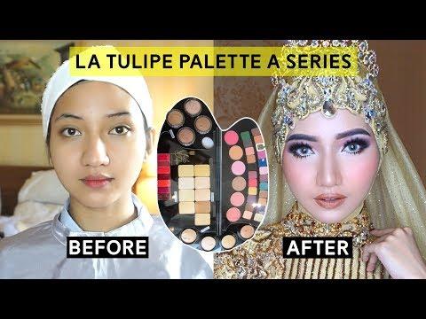 Makeup Wedding Tutorial menggunakan Produk Latulipe