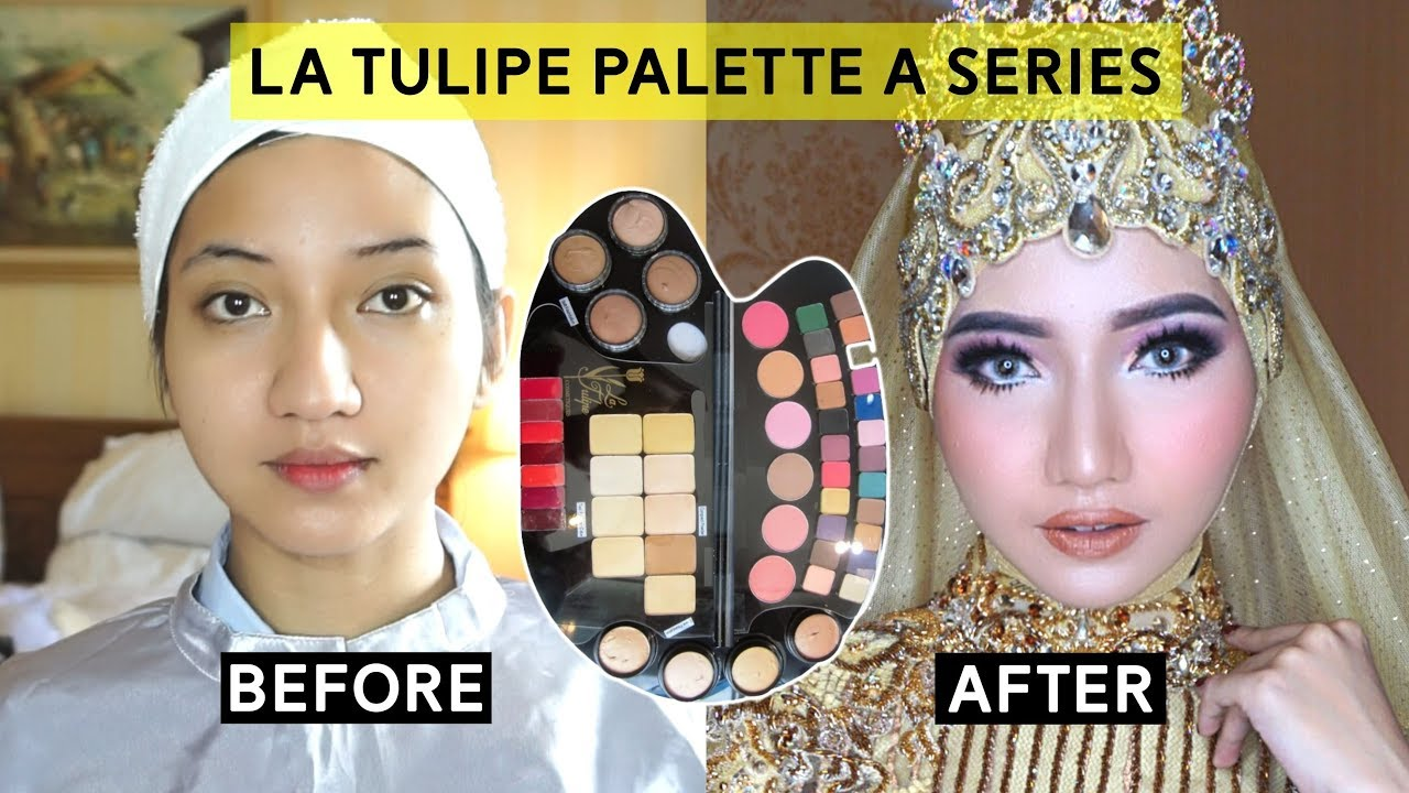 Makeup Wedding Tutorial Menggunakan Produk Latulipe Youtube