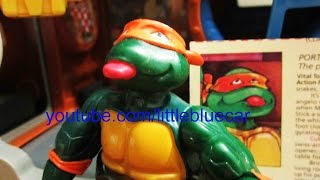teenage mutant ninja turtles tmnt wacky action roll and roll michaelangelo action figure 737 739