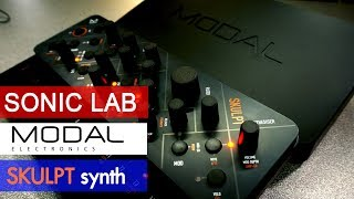 Modal Skulpt - 4 Voice Virtual Analog Synthesizer Review - Sonic LAB