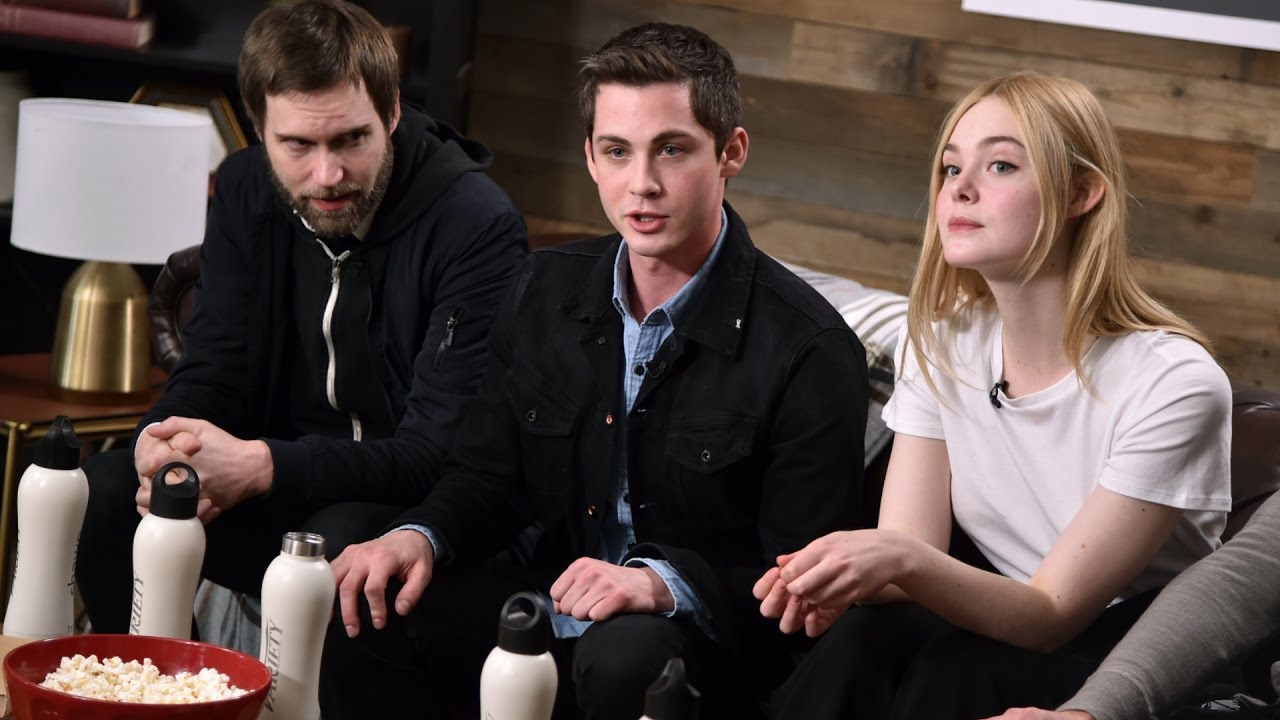Download Logan Lerman and Elle Fanning on Young Love in 'Sidney Hall'