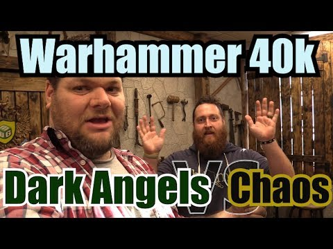 Dark Angels vs Chaos Space Marines Warhammer 40k 8th edition Battle Report  Ep17
