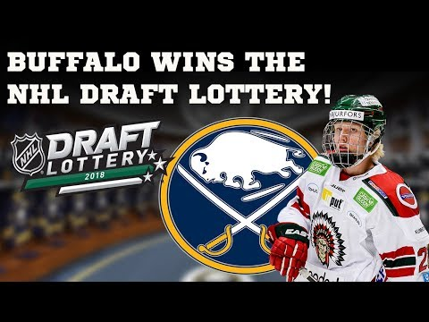 Reaction to the Buffalo Sabres winning the NHL Draft Lottery!