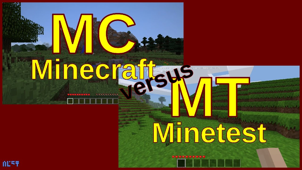 Minecraft vs Minetest - YouTube
