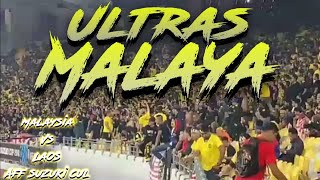 AKSI ULTRAS MALAYA - MALAYSIA VS LAOS - AFF SUZUKI CUP 2018 - 12/11/2018