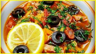 Вкусный бюджетный суп с консервой килька в томатном соусе//Рыбный суп