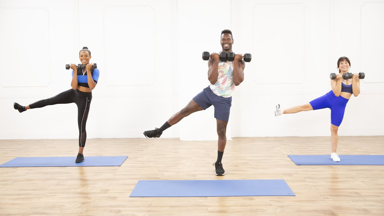 40-Minute Lower-Body Burner Workout With Raneir Pollard