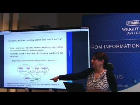 Saeedeh Shekarpour:  Using Knowledge Graph for Promoting Cognitive Computing