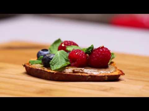 Sweet Potato Toast 3 Ways