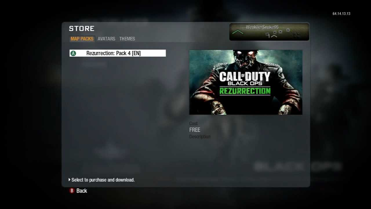 Black ops 2 nuketown zombies map dlc free xbox 360 ps3 video.