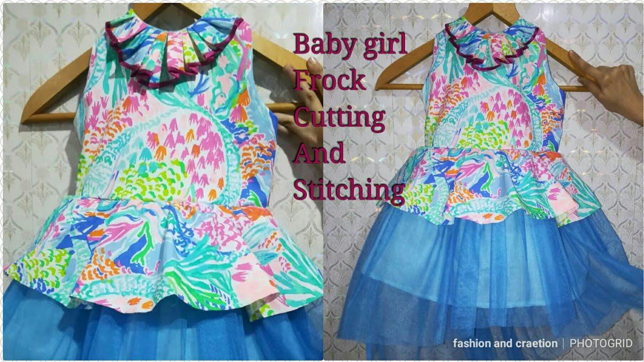 495f52e255 Peplum frock how to make peplu dress peplum dress frock Cutting And  Stitching