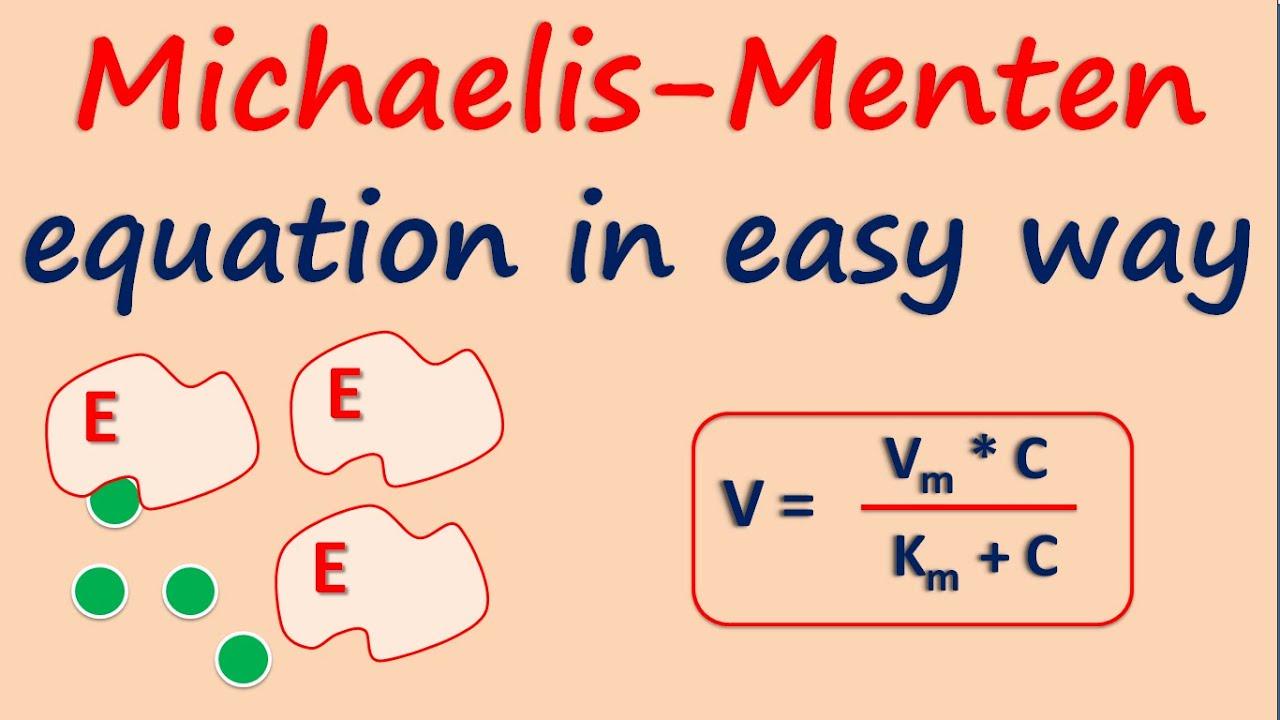 Download Michaelis-Menten equation in easy way