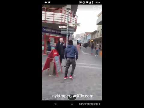 Lokala förmågor fajtas med pensionärer på torg i Lysekil!