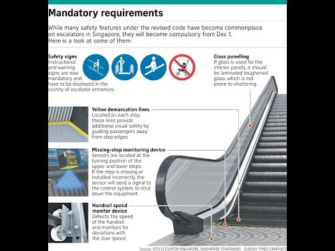 Singapore Escalator Safety Code Launches December 1