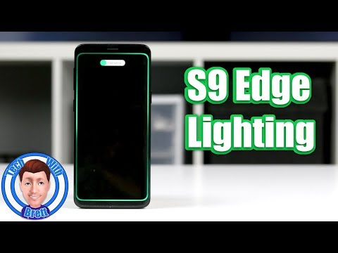 Edge Lighting Notifications For The Samsung Galaxy S9 & S9+