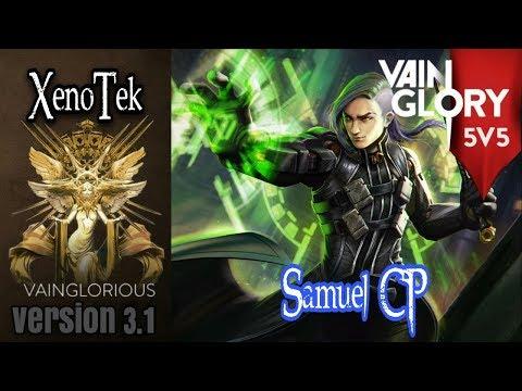 5v5 XenoTek   Samuel CP - Vainglory hero gameplay from a pro player