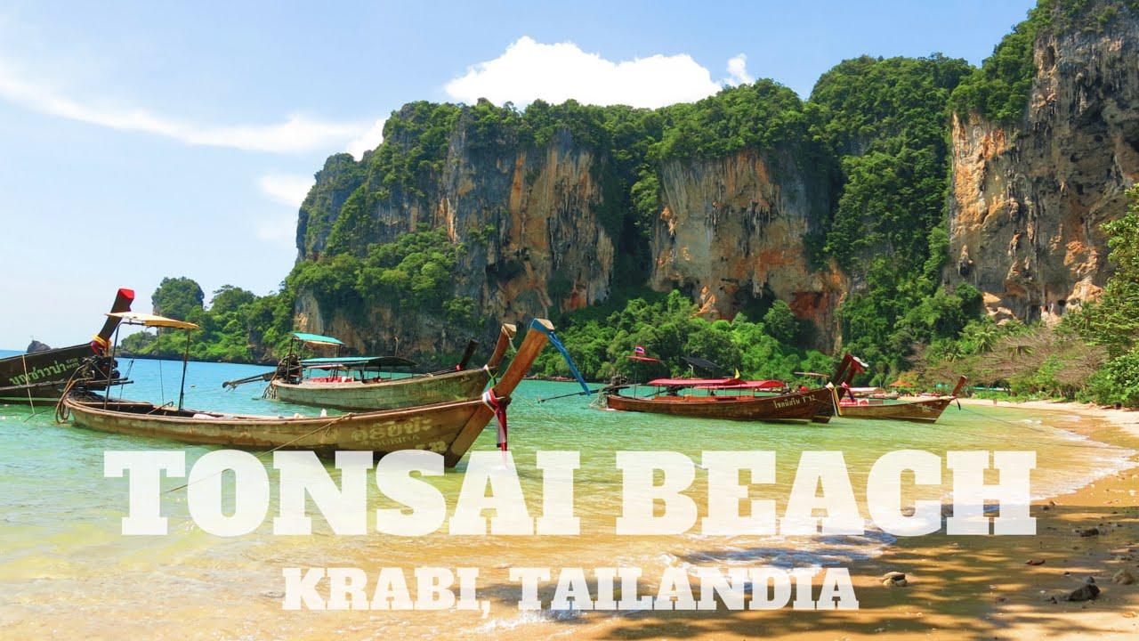 Tonsai Beach Que Hacer En Railay Krabi Tailandia