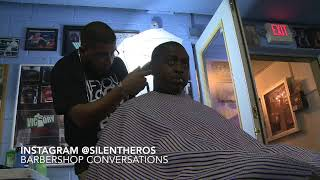 Boxing & Real Barbershop Conversations in NYC & Cali! Lets Do it!