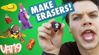 Feel free to have fun with your mistakes by constructing your own delightful erasers using the Creatibles DIY Eraser Kit. Buy here: ...