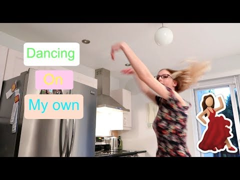 DANCE PARTY ALL BY MYSELF!!