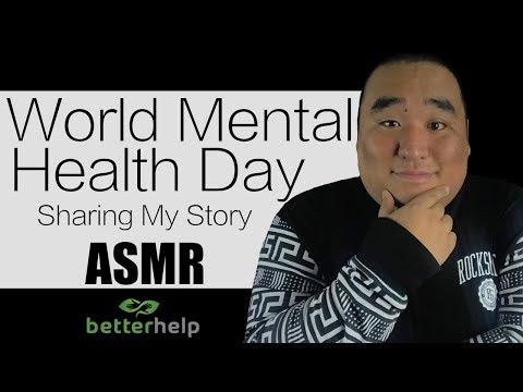 [ASMR] Mental Health Day - Sharing My Story   MattyTingles