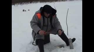 Зимняя рыбалка на реке Пожег.(Республика Коми. 6 апреля 2013 год., 2013-04-06T23:44:31.000Z)