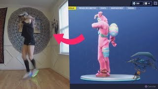 REAL-life FORTNITE dances (Pony ride, floss, etc.)
