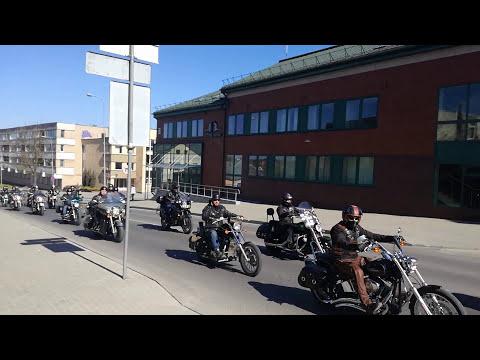 2017 m. Utenos motociklininkų sezono atidarymo kolona