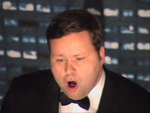 Paul potts performs live in toronto caruso