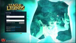 League of Legends - 22/8/2013 Lucian Intro bug