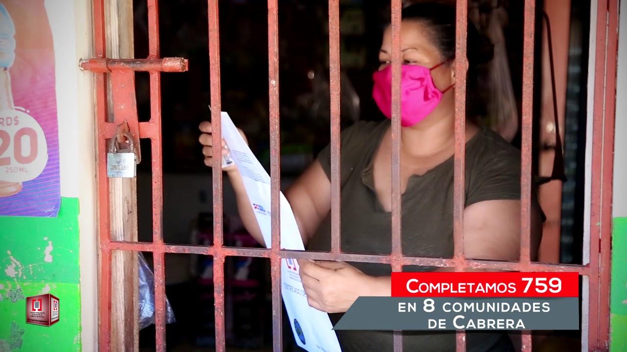 Gobierno completa entrega de 2,047 títulos casa por casa en Nagua y Cabrera