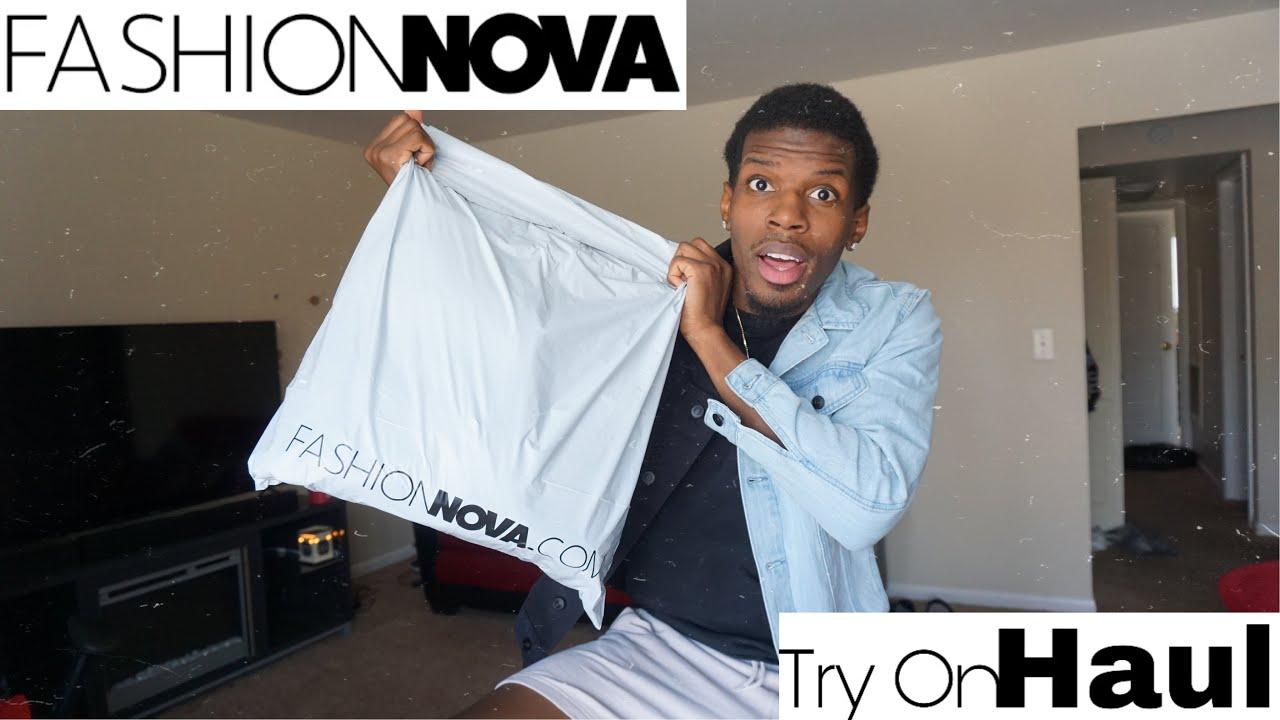 My FIRST Fashion Nova Men's Try-On HAUL!!