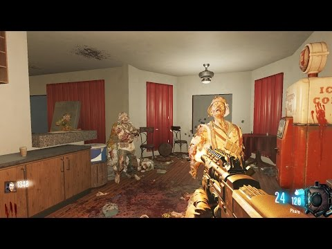 APARTMENT OF THE DEAD!- NEW CUSTOM ZOMBIES MAP  - BLACK OPS 3 MOD