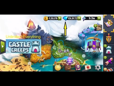 Castle Creeps TD hack and Mod APK (Unlimited Everything).100% Successfull  #Smartphone #Android