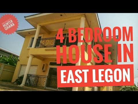4 Bedroom House in East Legon Accra Ghana For Sale