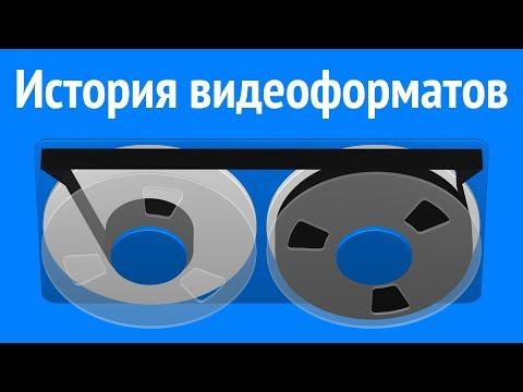 История развития видеоформатов