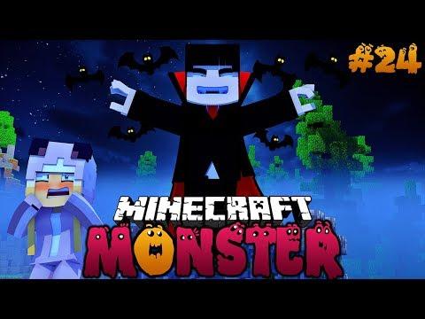 WIEDERSEHEN MIT DEM VAMPIR ✿ Minecraft MONSTER #24 [Deutsch/HD] thumbnail