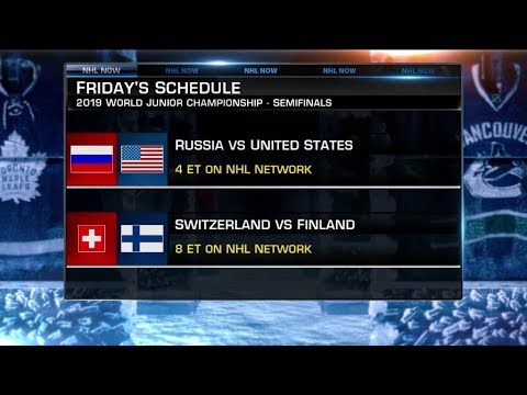 NHL Now:  Dave Starman talks Poehling, Team USA in World Juniors  Jan 3,  2019