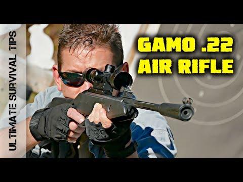 BEST .22 Caliber AIR RIFLE Under $200? - Hunting / Camping / Survival Gun - FUN to SHOOT