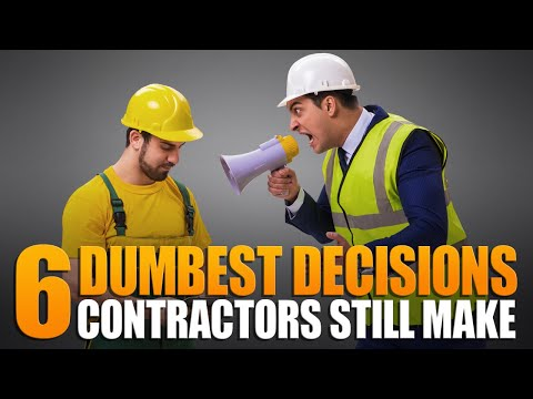 6 Dumbest Decisions Roofing Contractors Make In Business