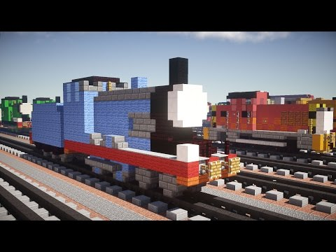 Minecraft Edward Thomas & Friends Tutorial