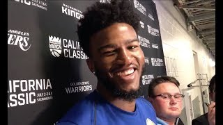 Jordan Bell on DeMarcus Cousins joining the Warriors & reveals what Kevin Durant thinks of him