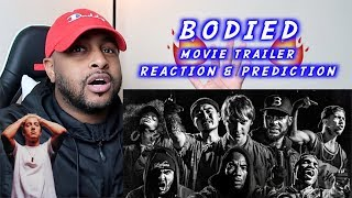 EMINEM BODIED MOVIE TRAILER REACTION & PREDICTIONS