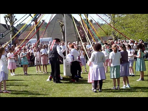 2013 Wheatley May Day Maypole Dancing