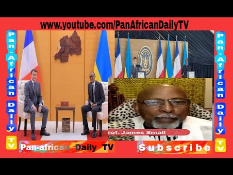 Prof James Small WARNS against France APOLOGY to RWANDA for their Role in 1994 G*NOC*DE