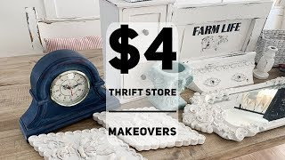 Cheap Thrift Store Makeovers | Under $4.00