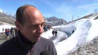 Ouverture du col du Petit-Saint-Bernard: la jonction est faite entre Savoie et Italie