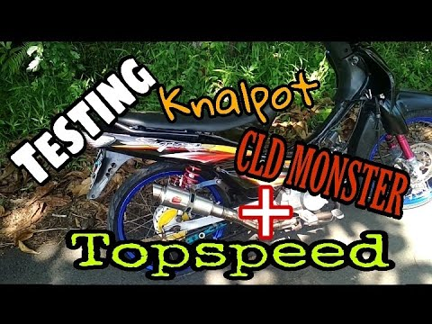 TES CLD MONSTER + TOP SPEED
