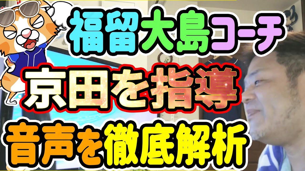 【中日ドラゴンズ】福留コーチと大島コーチの京田さん指導の音声をよ~く聞き取ってみた【おっさんぽ】