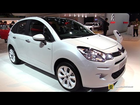 2015 Citroen C3 PureTech Exclusive  Exterior and Interior Walkaround  2014 Paris Auto
